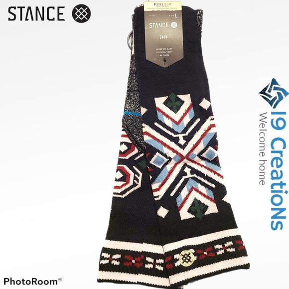 (New) Stance Merino wool blend (Snow)-Large